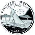 Rhode Island quarter, reverse side, 2001.png