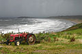 Rhossili Bay - Storm Scene with Tractor - geograph.org.uk - 1734224.jpg