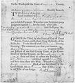 Richard Cary Court Summons February 10, 1770 - NARA - 193008.tif