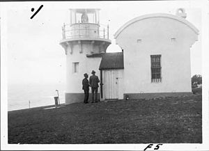 Richmond River Light - The lighthouse in 1930