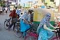 Rickshaw ride in Varanasi (8527238426).jpg