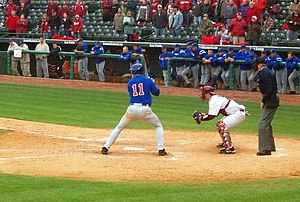 Riley Cooper - Cooper batting for the Florida Gators baseball team