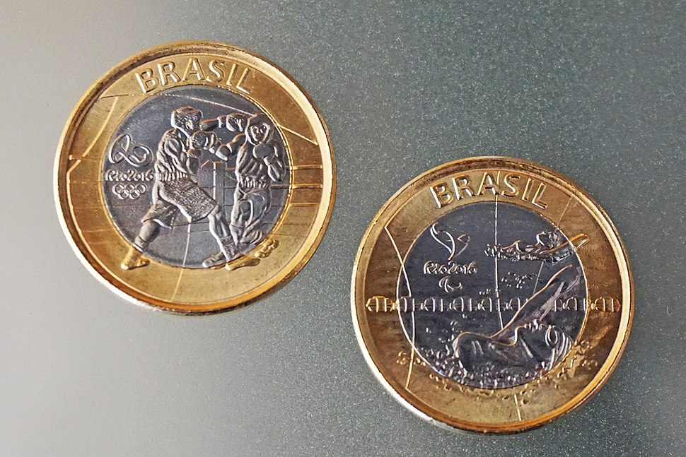 Rio 2016 coins 7928