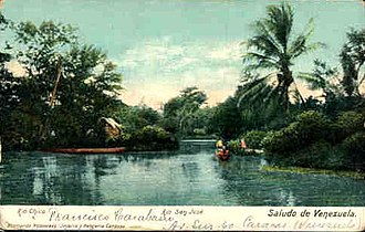 Venezuela during World War II - Image: Rio Chico, Miranda Venezuela 1940