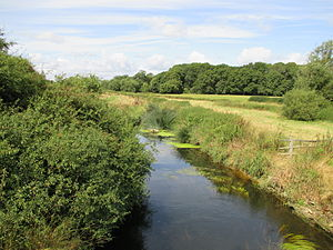 River Adur - The Adur, downstream from Wineham Bridge