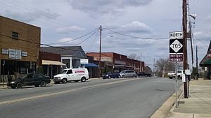 Robbins, North Carolina - Central business district of Robbins