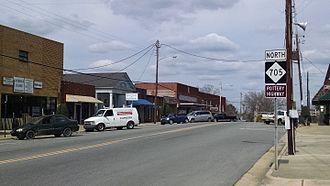 Robbins, North Carolina - Central business district of Robbins