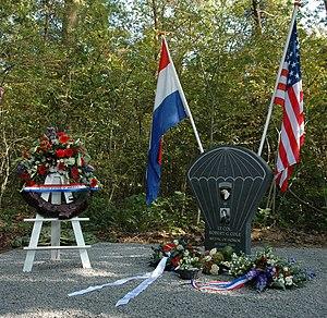 Robert G. Cole - Robert Cole memorial in Best, The Netherlands