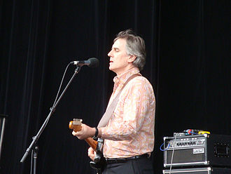 Robert Forster (musician) - Forster performing at All Tomorrow's Parties, Mt Buller, Victoria, on 10 January 2009.
