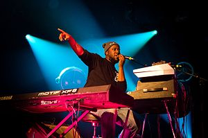Robert Glasper - Robert Glasper live at Leverkusener Jazztage (Germany) on November 9th 2016