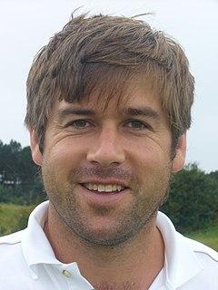 Robert Rock professional golfer