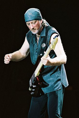 Roger Glover - Roger Glover in concert at Big Flats, New York in 2002