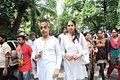 Rohit Verma at Dara Singh's funeral 24.jpg