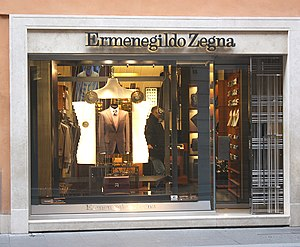 Ermenegildo Zegna - The Via Condotti boutique in Rome