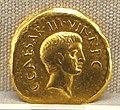 Roma, repubblica, moneta di c. vibius varus e octavianus, 42 ac. oro.JPG