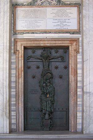 Roma, San Giovanni in Laterano, Porta Santa
