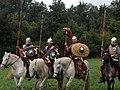 Roman Cavalry Reenactment - Roman Festival at Augusta Raurica - August 2013-026.JPG