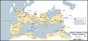 Roman Empire under Hadrian
