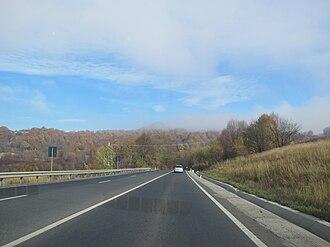 DN1 - Image: Romania strada DN1 da Braşov a Sibiu, 01
