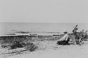 Breton National Wildlife Refuge - Theodore Roosevelt at Breton NWR in 1915