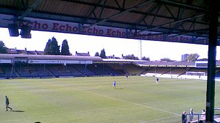 Roots Hall association football stadium in Southend