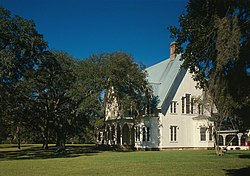Rose Hill Plantation House, 2.5 miles Northwest of intersection of U.S. HIghwa, Bluffton vicinity (Beaufort County, South Carolina).jpg