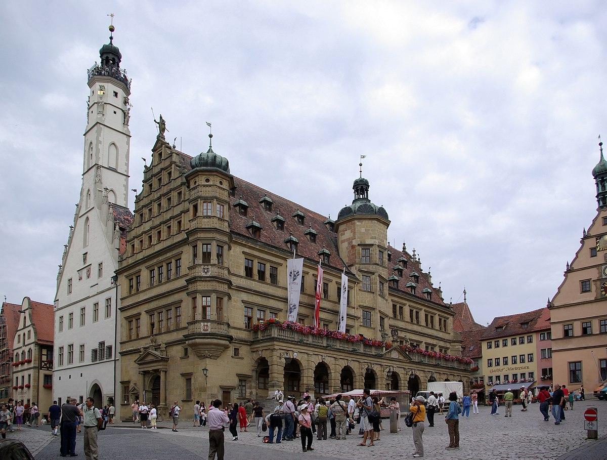 Rothenburg ob der tauber wikip dia a enciclop dia livre - Rothenburg ob der tauber alemania ...