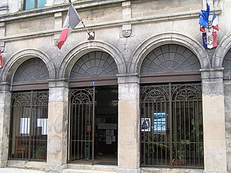 Rouillac, Charente - Town hall