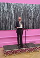 Royal academy summer exhibition varnishing day 2015 CLB speech.jpg
