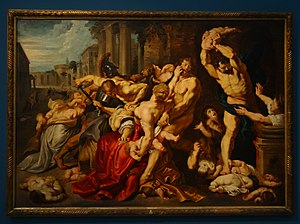 Massacre of the Innocents (Rubens) - The workshop copy in Brussels