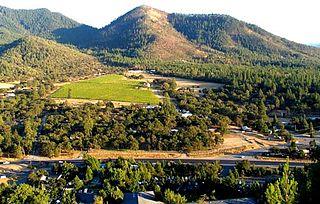 Ruch, Oregon Census-designated place in Oregon, United States
