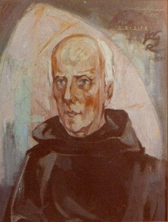 Jan Verkade - Verkade in 1946 (artist: Rudolf Heinisch)