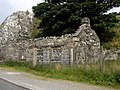 Ruined cottage at roadside on B4418 - geograph.org.uk - 464460.jpg