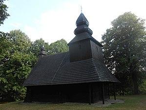 Ruská Bystrá - Image: Ruska Bystra wooden church 2