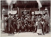 Russian soldiers during the boxer rebellion