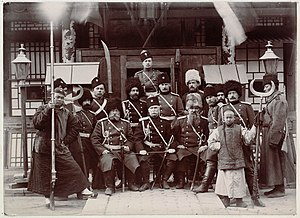 Russian troops during the Boxer Rebellion Russian soldiers during the boxer rebellion.jpg