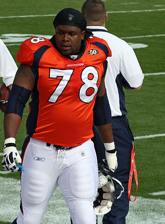 Ryan Clady - Clady with the Denver Broncos in 2009