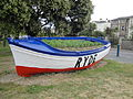 Ryde Esplanade boat flower bed in June 2012 2.JPG