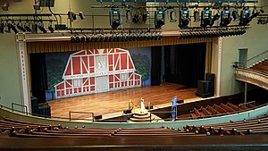 Ryman Auditorium - The stage at the Ryman Auditorium where many of the legendary artists have performed