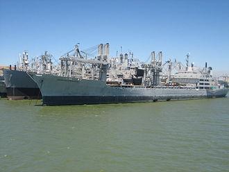 Suisun Bay Reserve Fleet - Image: S.S. green mountain state mothball