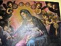 S. domenico, convento, francesco curradi, San Domenico riceve il rosario dalle mani della Madonna 03.JPG