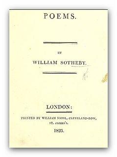 William Sotheby British translator