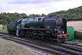 SR WC 34028 'Eddystone' without nameplates, Swanage Railway, Norden, September 2013 042 (9969667204).jpg