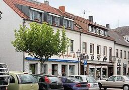 Saarwellingen, houses on the Schloßstraße