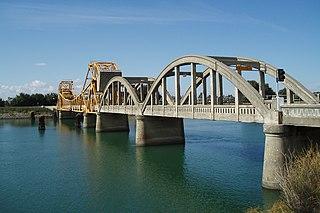 Isleton Bridge Bridge in the United States