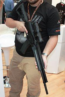 Saiga semi-automatic rifle - Wikipedia