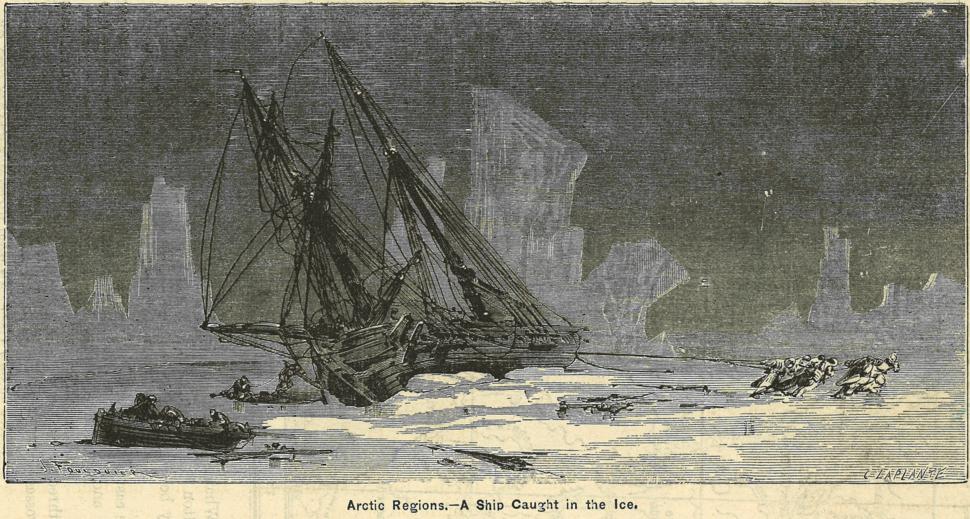 Sailing Ship in Arctic Regions.tiff
