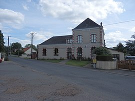 The town hall of Saint-Mars-de-Locquenay