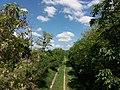 Saint-Maurice d'Ardèche - Voie verte vue depuis le pont.jpg