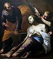 Saint Agatha visited in prison by Saint Peter - Antonio De Bellis.jpg